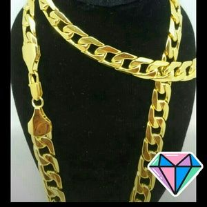 Other - DIAMOND DEAL Buy 1 Get 1 Free Gold Plated Chain